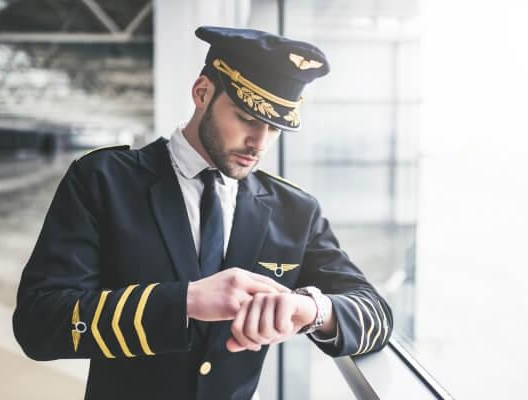 professional airplane pilot training