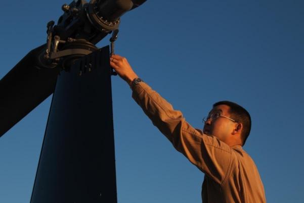International Student Training Helicopter